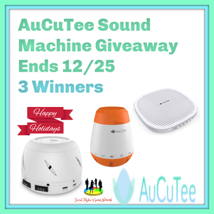 AuCuTee Sound Machine Giveaway!