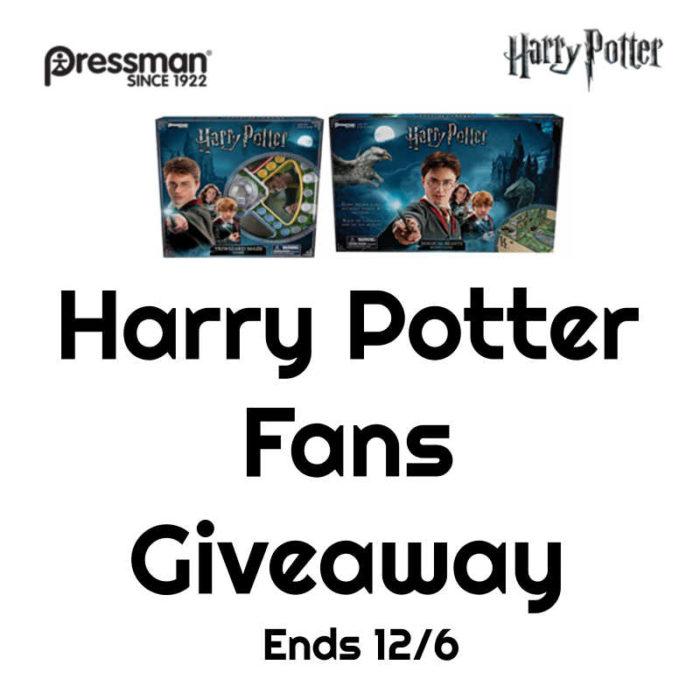 Harry Potter Fans Giveaway!