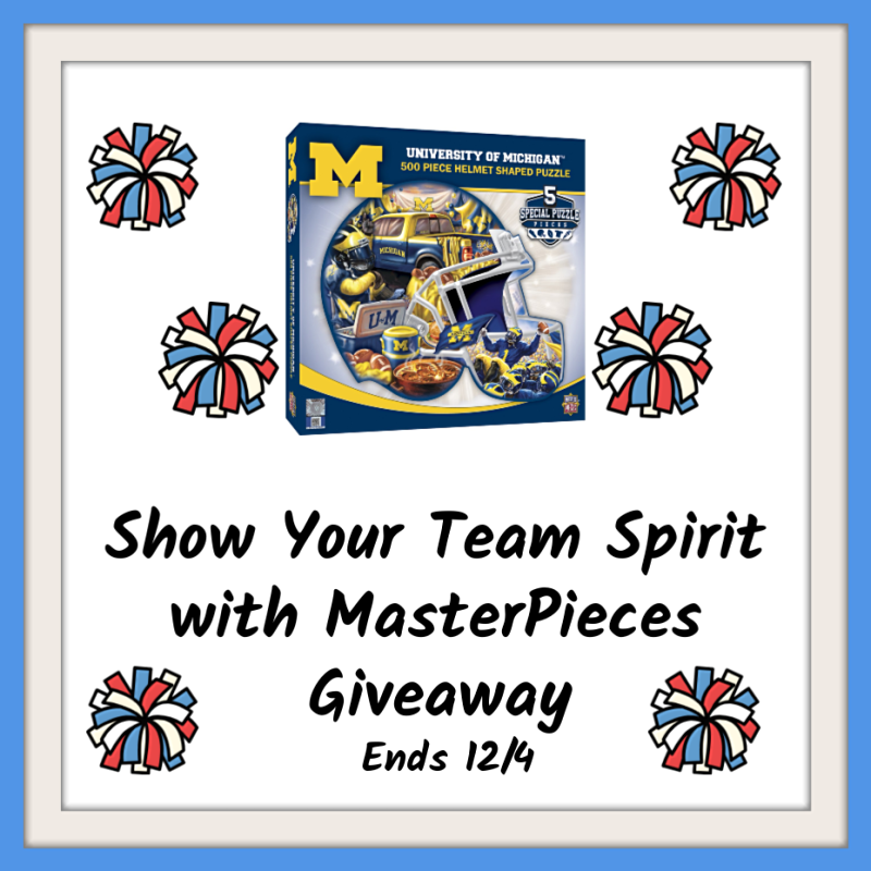 Show Your Team Spirit with MasterPieces Giveaway!