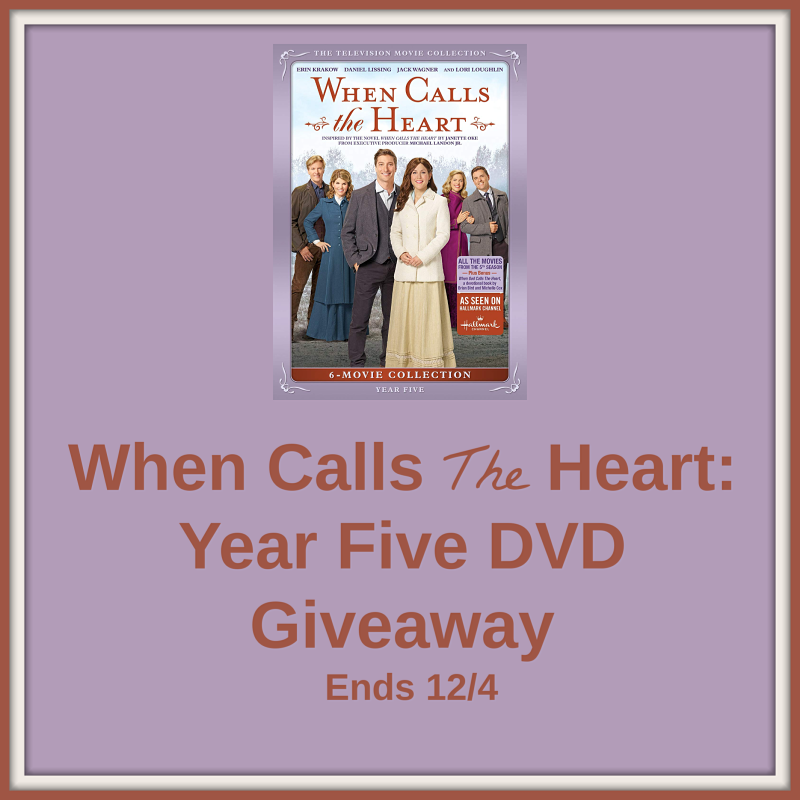 When Calls The Heart: Year Five DVD Giveaway!