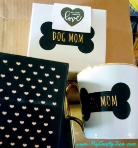 Apollo Surprise Bos! Dog Mom Mug #ApolloInfluencer