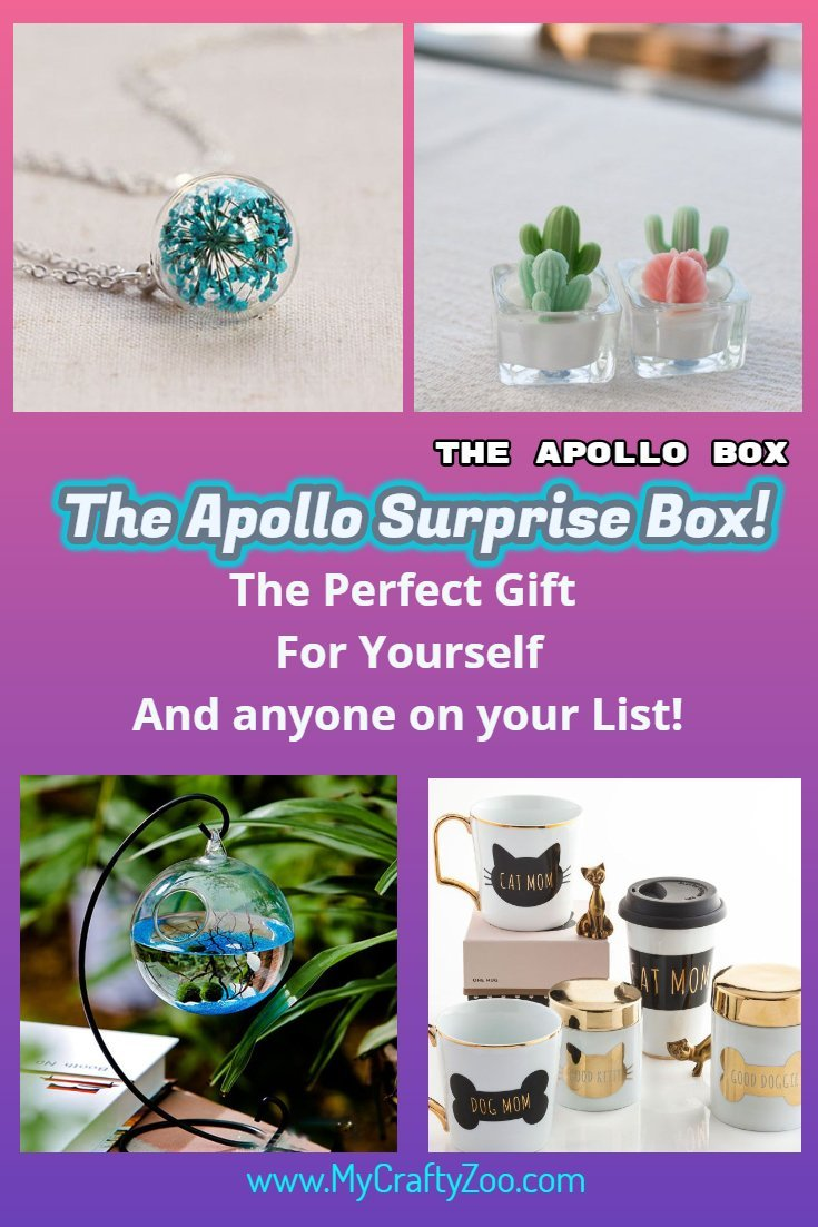 Apollo Surprise Box! The Perfect Gift for Everyone On Your List! #ApolloInfluenster