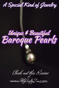 Baroque Pearls: Unique & Beautiful! @DiamondVeneer @Crafty_zoo