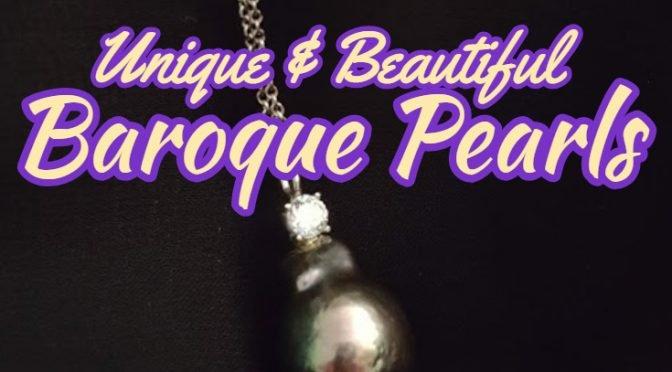 Baroque Pearls: Unique & Beautiful! @DiamondVeneer @Crafty_zoo