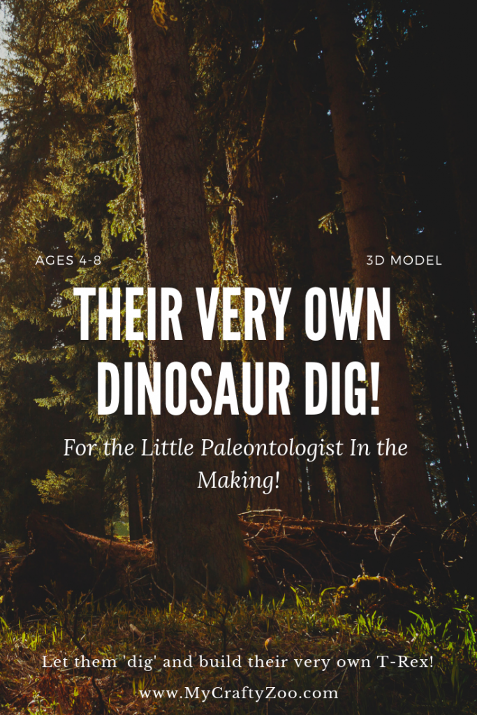 Build a T-Rex! Paleontology Adventure for Children!