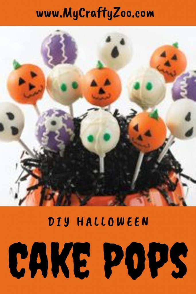DIY Halloween Cake Pops Recipe