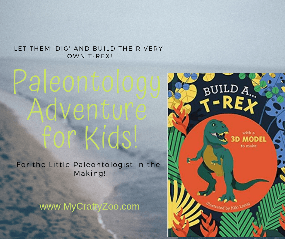 Build a T-Rex! Paleontology Adventure for the Kids!