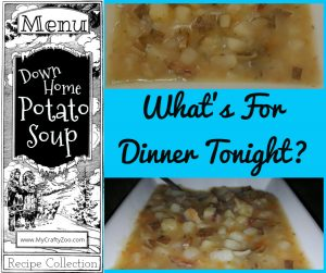 Down Home Potato Soup Recipe: Dairy or Non-dairy!
