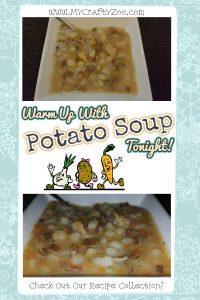 Down Home Potato Soup Recipe: Dairy & Non-Dairy!
