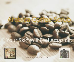 Arabica Coffee Scrub. Feel Amazing @pure_parker #VDAY19