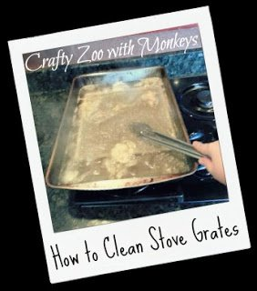 How To Clean Stove Grates #DIY #Home
