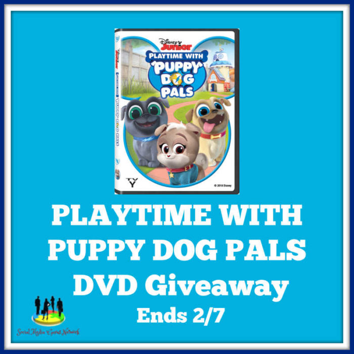 PLAYTIME WITH PUPPY DOG PALS DVD Giveaway!