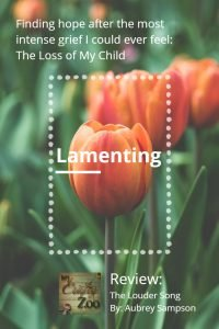 Lamenting: Finding Hope After Losing My Child