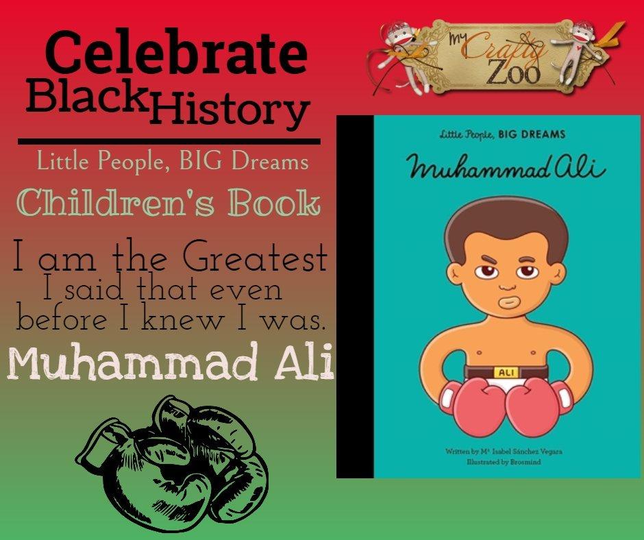 Muhammad Ali Children's Book: Little People, BIG DREAMS Series @QuartoKnows @CraftyZoo