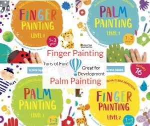 Finger and Palm Painting! National Craft Day!
