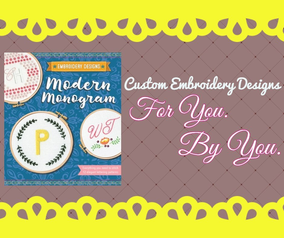 Modern Monogram: DIY Custom Designs!