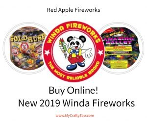 BUY ONLINE NEW 2019 WINDA FIREWORKS AT RED APPLE FIREWORKS