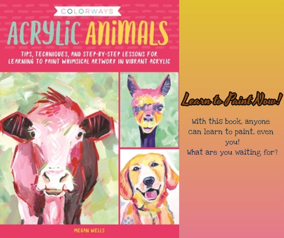 Acrylic Animals: Learn to Paint Today! @QuartoKnows