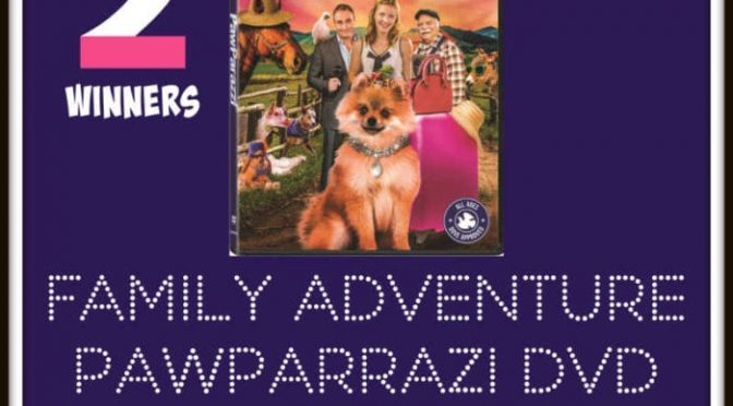 Family Adventure PAWPARRAZI Giveaway!