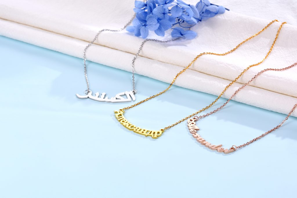 Latest Jewelry Trends - Name Necklace