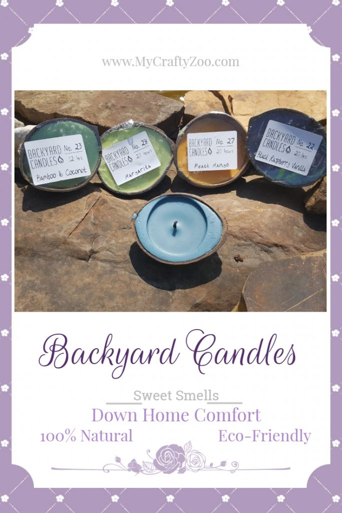 Backyard Candles! Best Smelling Non-Toxic & All Natural #BackyardCandles