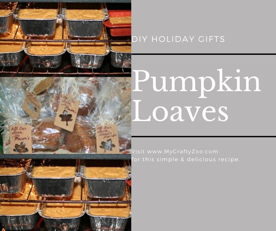 Pumpkin Bread Loaves: Perfect Holiday DIY Gift
