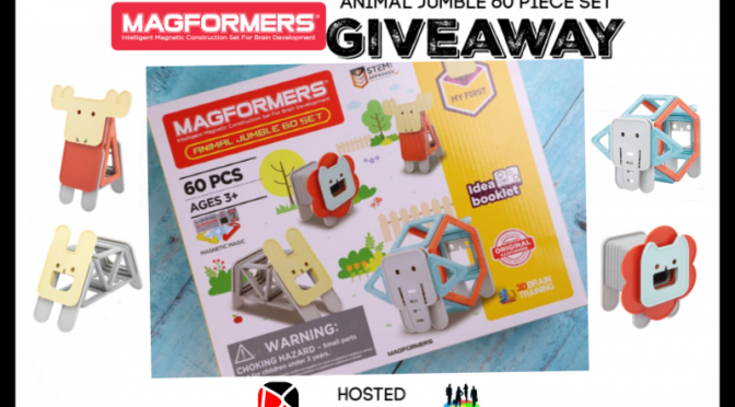 Magformers Animal Jumble 60 Piece Set Giveaway (Ends 4/22) @MAGFORMERSLLC @SMGurusNetwork