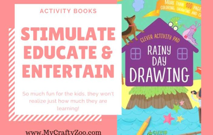 Activity Books: Stimulate, Educate & Entertain @CleverbooksUS
