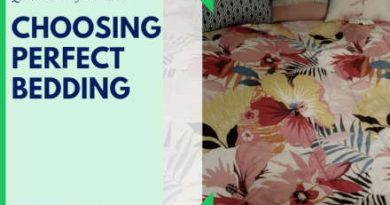 Quick & Simple Guide to Choosing the Perfect Bedding for YOU!