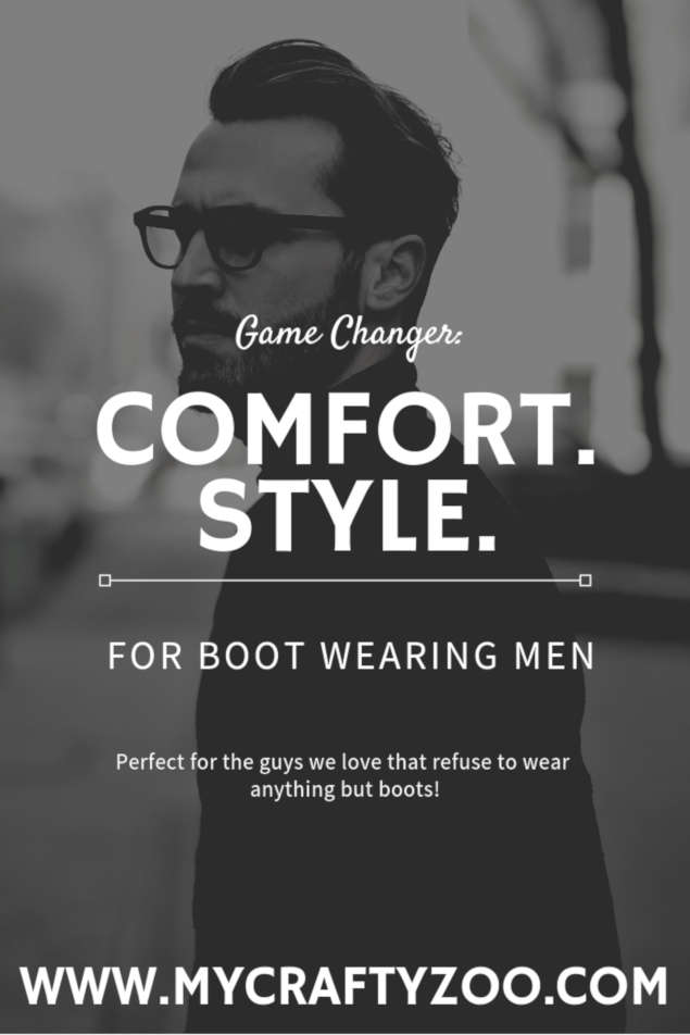 Dot Com 2.0: Getting Those Men Out of Boots!