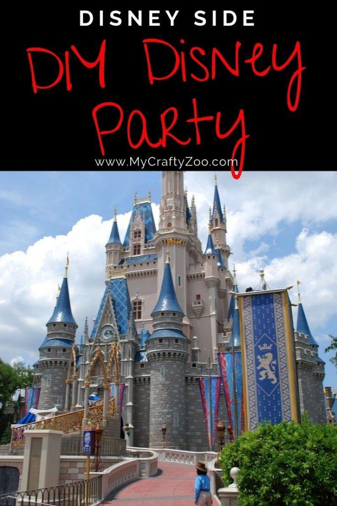Disney Side DIY Disney @Home Celebration Party