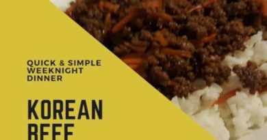 Korean Beef: Quick & Easy Weeknight Dinner