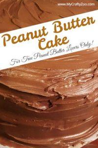 Peanut Butter Cake @Crafty_Zoo