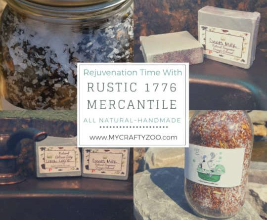 Rustic 1773 Mercantile All Natural Artisan Products