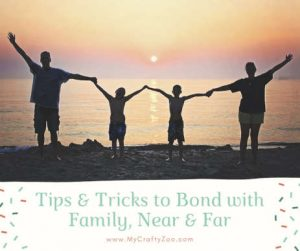 Memory Making: Bonding With Relatives, Near & Far
