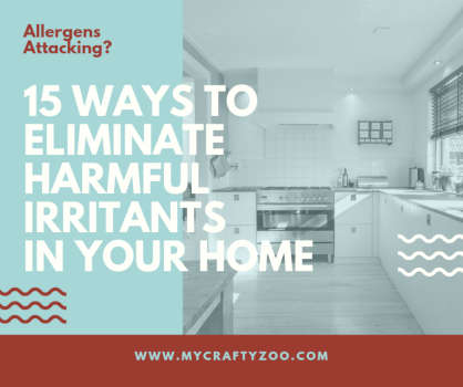 15 Ways to Virtually Eliminate All Harmful Irritants In Your Home With This Quick Guide