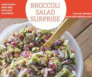 Broccoli Salad Surprise: Everyone's New BBQ Potluck Favorite