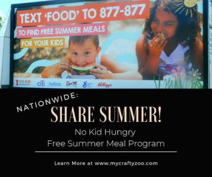 No Kid Hungry: #ShareSummer Free Meal Program @NoKidHungry #SummerMeals #NoKidHungry