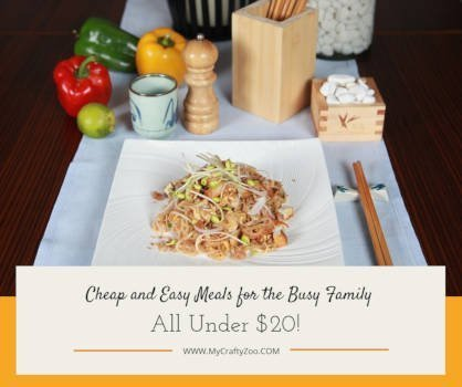 Cheap and Easy Meals for the Busy Family: