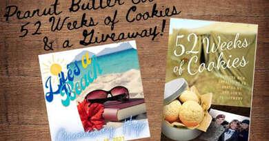Peanut Butter Cookies & 52 Weeks of Cookies + a Giveaway!