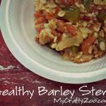 Healthy Barley Stew Recipe: Simple and Delicious