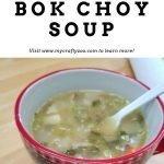 Chicken Bok Choy Soup Recipe