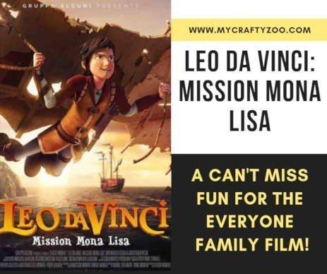 Leo Da Vinci: Mission Mona Lisa #LeoDaVinciMissionMonaLisa