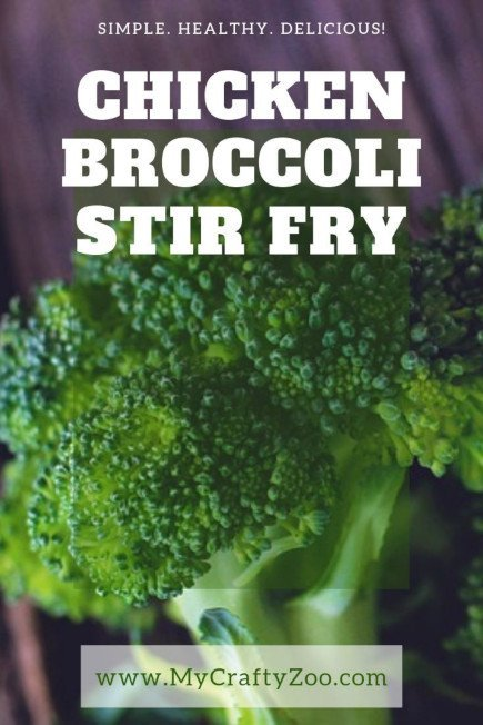 Chicken Broccoli Stir Fry: Super Easy Yummy