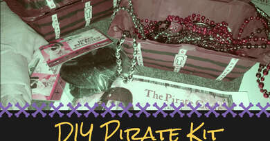 Pirate Kit DIY: For Costumes or Play!