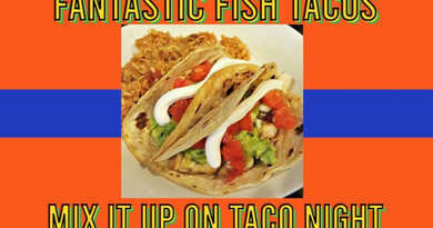 Fish Tacos Super Healthy Spin for Your Favorite Taco Night