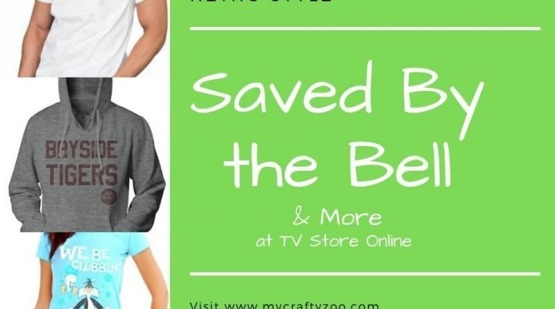 Retro Style: Saved by the Bell & More at TV Store Online