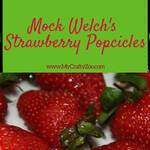 Strawberry Ice Pop Recipe: An Incredibly Close Mock Welch's