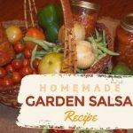 Homemade Garden Salsa Recipe: How to Make Fresh Salsa @MyCraftyZoo