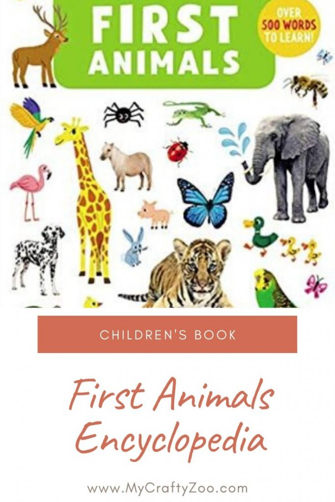 First Animals is a delightful first words encyclopedia for children. Have fun with this book teaching words with games, pictures & more!